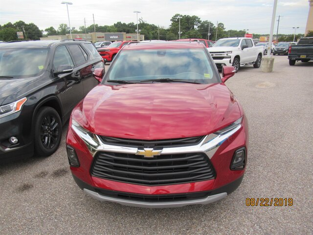 New 2019 Chevrolet Blazer w/3LT